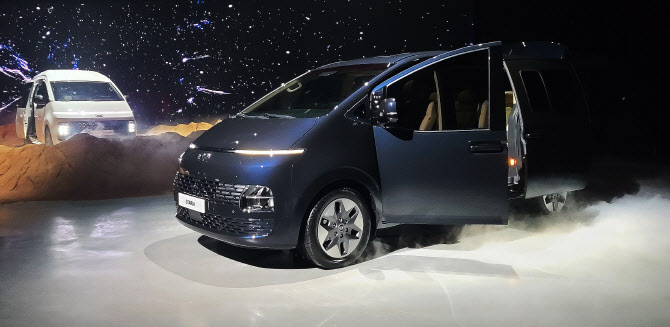 이것이 현대차의 새로운 다목적 차량 `스타리아`