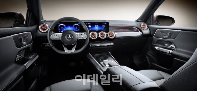 벤츠, 컴팩트 전기 SUV `더 뉴 EQB` 오토 상하이서 공개