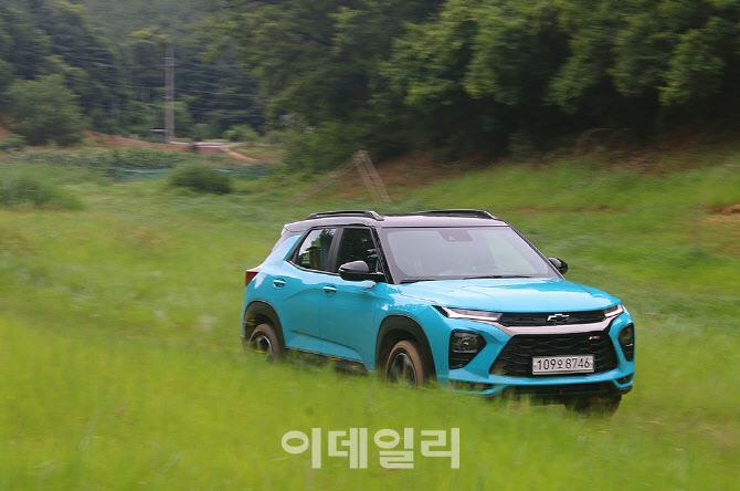 `만기만성` 트레일블레이저, 1분기 소형 SUV 판매 2위