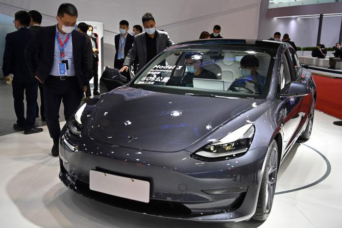 테슬라 중국서 건재 과시…중국산 테슬라 전기차 5월 판매량 29%↑