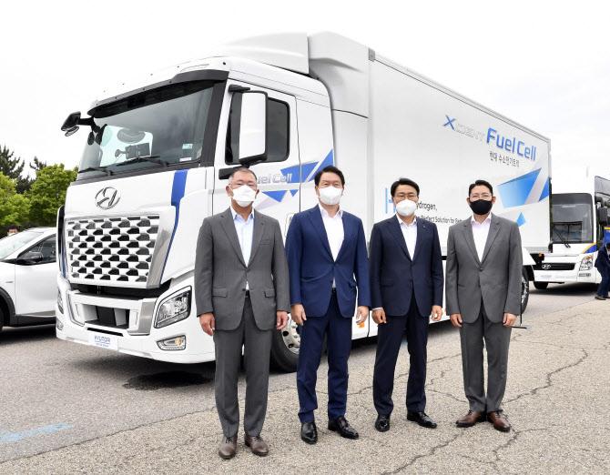 현대차·SK·포스코·효성 `수소기업협의체` 만든다..탈탄소시대 선도
