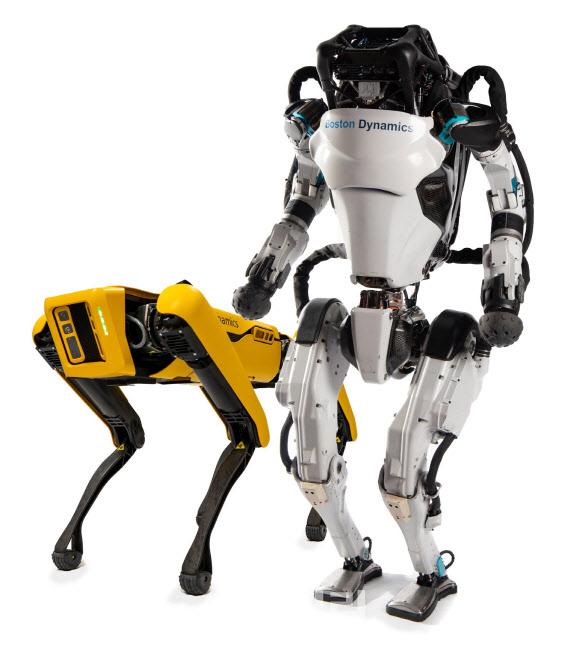 訪美 정의선, 자율주행차 타고 로봇기술 체험..`미래준비 박차`