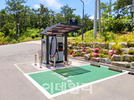 국립자연휴양림관리소, 전기차 충전기 설치사업 확대