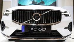 '신형 XC60' 의 앞모습
