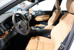 볼보 SUV '신형 XC60'의 실내모습