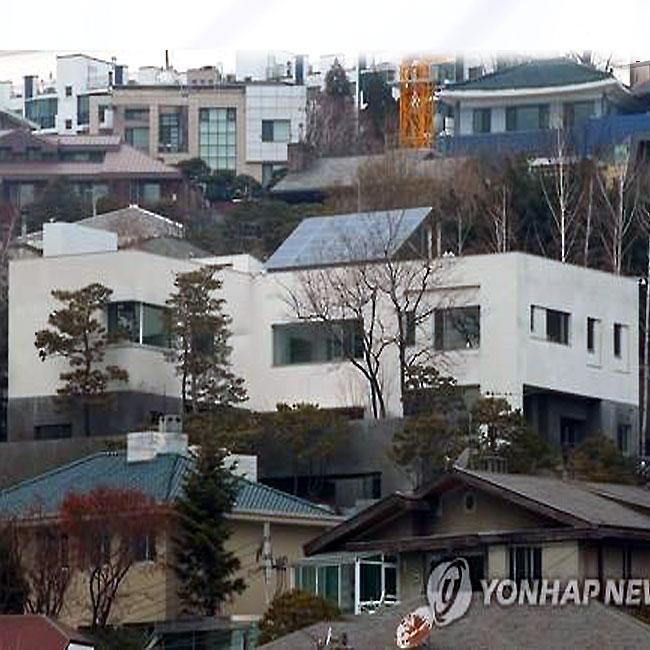 이명희 회장 자택 공시가 169억→270억 `최고가`