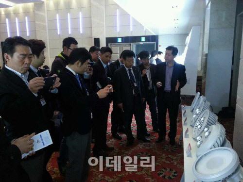 금호전기, 'LED 조명 신제품 발표회' 성료