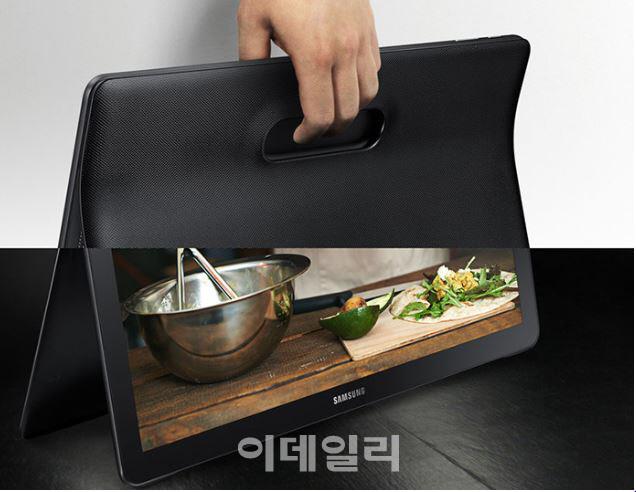 """""""아이패드 프로 한판 붙자""""…삼성 '갤럭시 뷰' 美 상륙"""