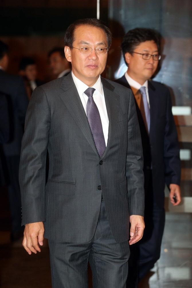 故 정주영 회장 100주년 기념음악회 참석한 김용환 부회장