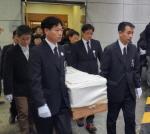 故백남기 농민 마지막 가는 길…'민주사회葬' 발인