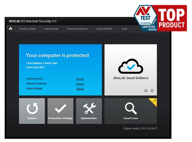 안랩 PC보안 솔루션, 국제 평가에서 만점 기록