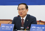"""홍영표 """"文개헌안 의결 보이콧, 헌법 정신 반하는 것"""""""