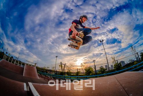 전현호의 '익스트림 인 세종', 행복도시 세종 사진공모전서 대상 수상