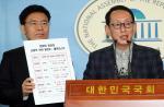 한국당, 김태우·신재민 특검법 단독발의…바른미래·평화당과 공조 '삐걱'
