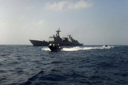 청해부대 '최영함' 사고..병사 1명 사망·3명 치료중