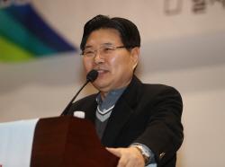 '친박' 홍문종 한국당 탈당 선언…대한애국당 공동대표 추대