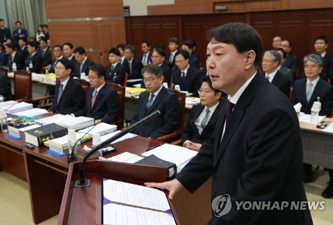 """'황교안 악연' 윤석열 6년전 """"사람에 충성 않는다"""""""