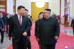 """""""시진핑 방북 계기 북중간 경제지원 '딜' 성사될수도"""""""