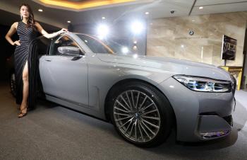 BMW, 플래그십 세단 뉴 7시리즈 출시