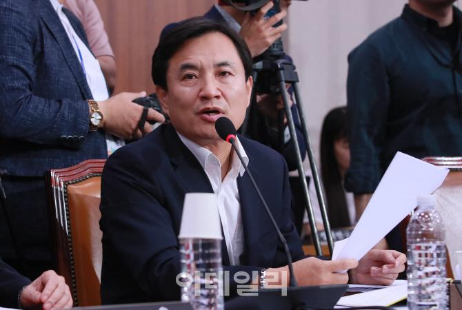 [포토]의사진행 발언하는 김진태 의원