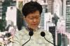 캐리 람, 사퇴설 일축…시위대 향해 '폭도' 규정도