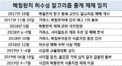 """""""멸치 잡았다""""…허수성 매매 중개 `메릴린치` 제재"""