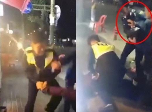 '대림동 여경 사건' 경찰관 폭행한 조선족 1심서 집행유예