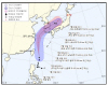 태풍 '다나스' 북상...22일까지 많은 비