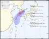 5호 태풍 다나스 중국 성큼…20일 광주 대구 내륙 영향권
