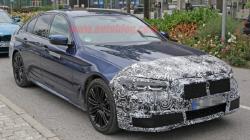 리프레쉬된 BMW 5 시리즈 PHEV 테스트 포착