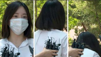 '남양유업 외손녀' 황하나, 집행유예 석방