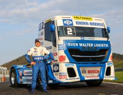 한국타이어, '아데아체 트럭 그랑프리'에  6년 연속 트럭·버스 타이어 전시