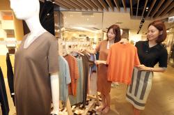 [포토]7월 한여름에 가을·겨울 여성복 매출 신장