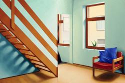 [e갤러리] 당신은 보지 못한 당신의 방 풍경…송은영 '청록색 벽'