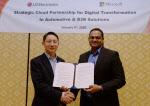 [CES 2020]LG전자-MS, 차량용 인포테인먼트·빌딩관리시스템 개발 협력