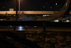 [포토]공군 3호기 김포공항에 도착