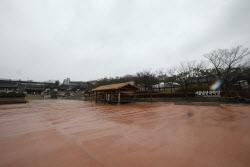 [포토]관광객 발길 끊긴 서울남산한옥마을