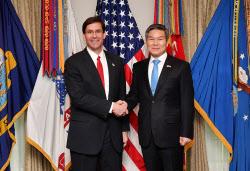 [포토] 한미 국방장관 회담