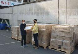 출협, 코로나19 환자 위한 기증도서 대구에 전달