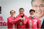 통합당 강남 3인방 ''강남밸트'' 형성…총선 승리 다짐