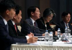 [포토] 관훈토론회 참석한 안철수 국민의당 대표