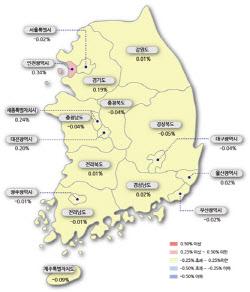 """서울 집값 39주 만에 '하락전환'…""""코로나19로 매수심리↓""""(종합)"""