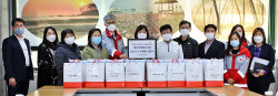 경기적십자, 중국이 지원한 마스크 12만여개 노인시설에 전달