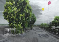 [e갤러리] 선유도에 초록은 없다…강홍구 '녹색연구-서울-공터-선유도'