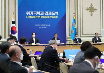 文대통령, 재정전략회의…포스트 코로나 시대 재정방향 논의