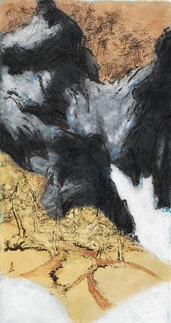 [e갤러리] 돌기운 빌려 쌓은 억겁…오선예 '산의 노래'