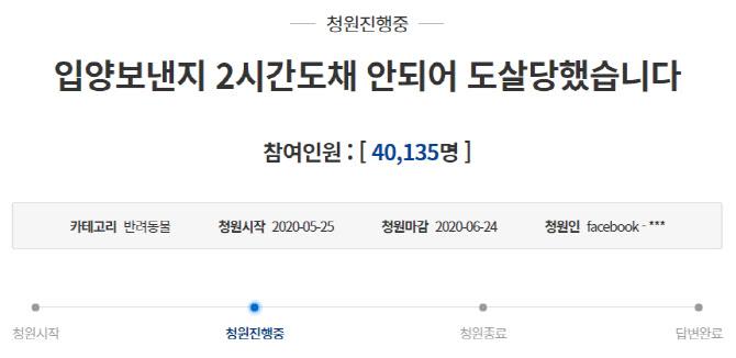 """""""진돗개 입양 2시간 만에 개소주용으로 도살""""…처벌받을까"""
