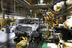 현대차, 코로나19 해외 판매 부진으로 울산4공장 2라인 휴업