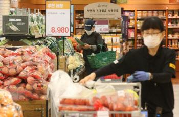 5월 소비자물가 0.3% 하락..마이너스 물가시대
