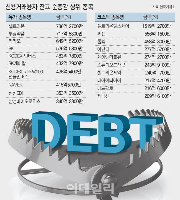 동학개미 거침없는 빚투자…13년 최장 증가